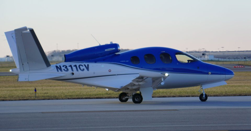 Cirrus Vision Jet G2 Certified