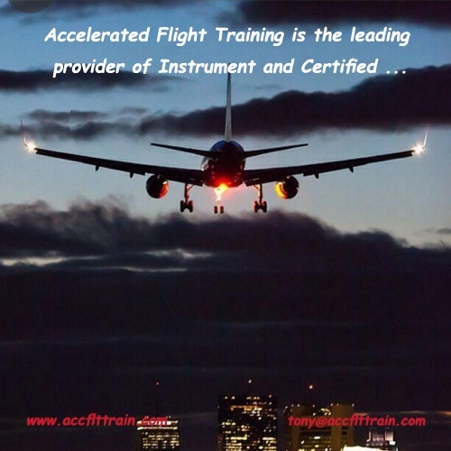 IFR currency Accelerated Flight Training is the leading provider of Instrument ...With our method you can attend your business and don't have to leave home in order to receive Full time and intensive training.