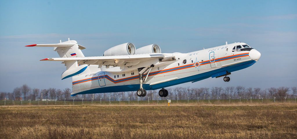 Beriev, Indian Airlines in Be-200 Talks