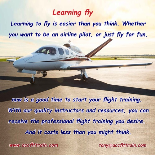 Learning fly