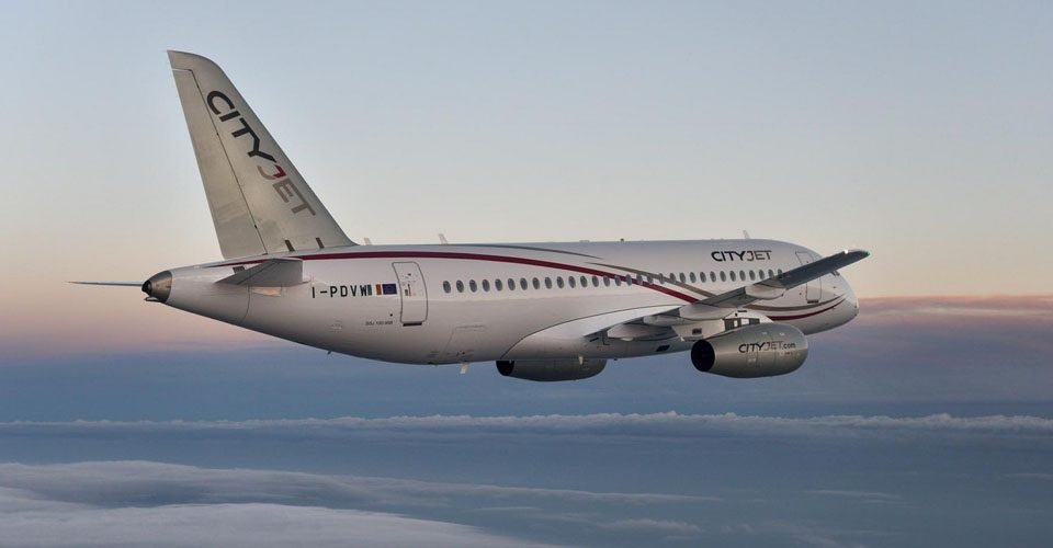 CityJet, Russians Differ on Reasons for Superjet Shuffle