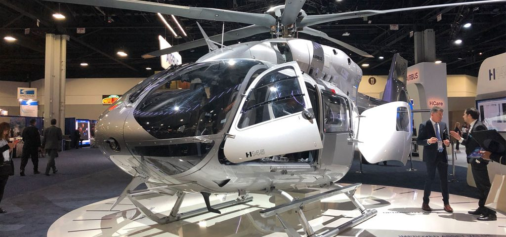 Airbus Snags Orders for 43 Helicopters at Heli-Expo