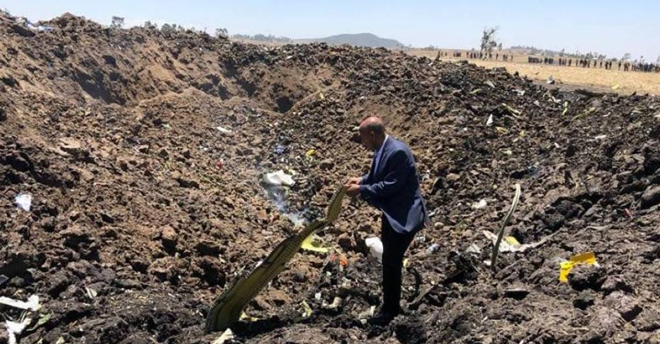 Ethiopian Airlines 737 Max 8 Crashes, Killing 157