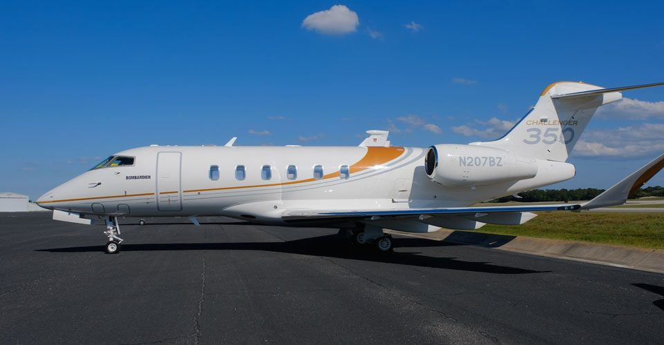 Bombardier's Challenger 350 Marks Delivery Peaks