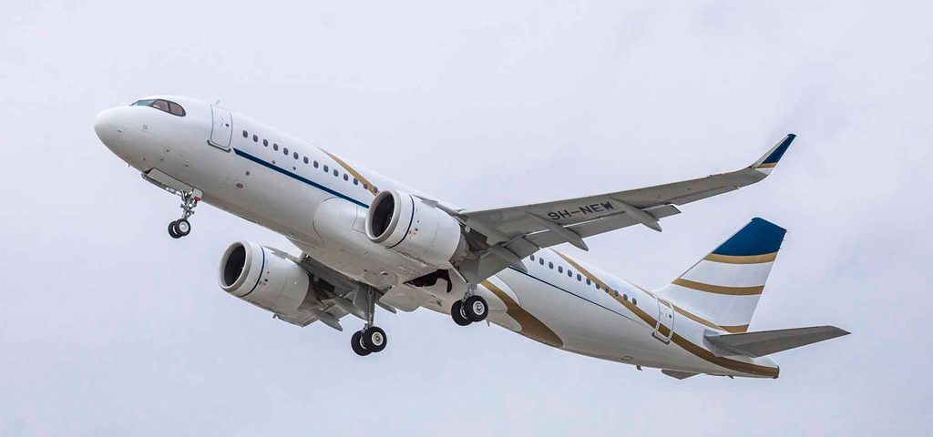 Comlux Receives First of Three Airbus ACJ320neos