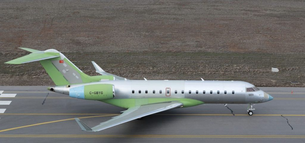 Turkey Receives Global 6000s for Jammer Conversion