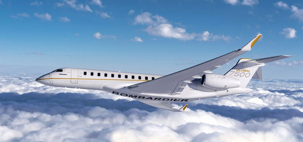 Bombardier Lines Up European Mx Support for Global 7500