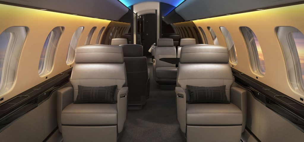 Circadian-based Cabin Lights Unveiled for Global 7500