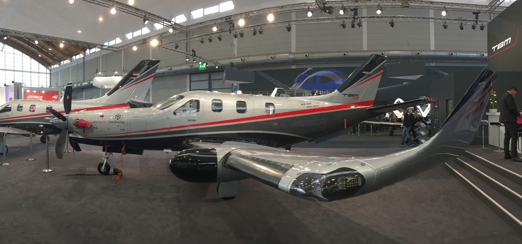 Daher TBM 940 Makes World Debut at Aero Show