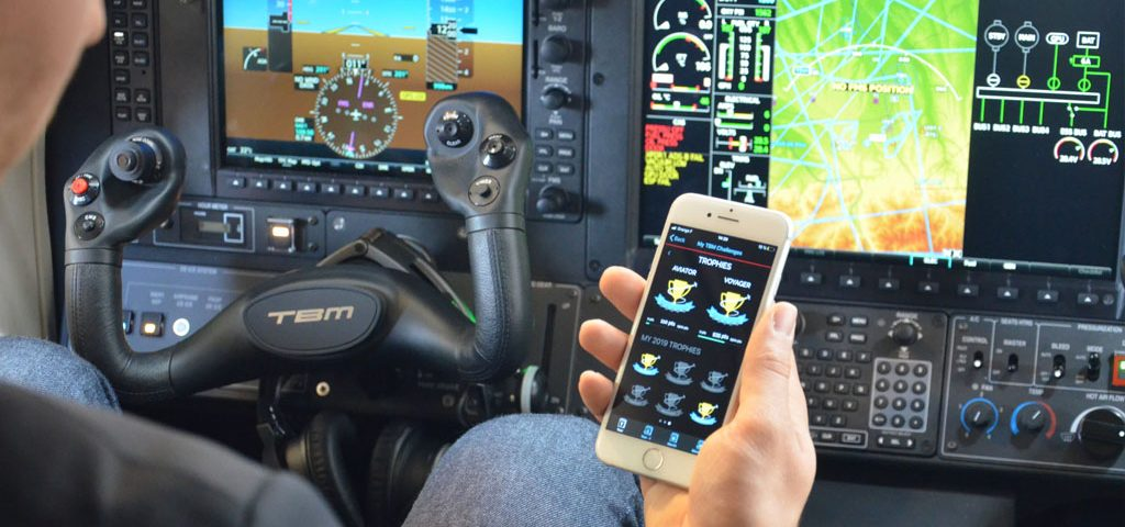 Daher's Updated TBM App Adds Flight Analysis, Aircraft Status