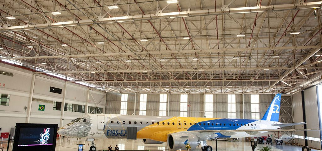 Embraer Celebrates E195-E2's Certification Triumverate
