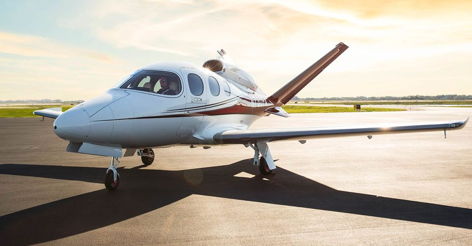 FAA Grounds Cirrus SF50 Jet over AoA Vane Issue