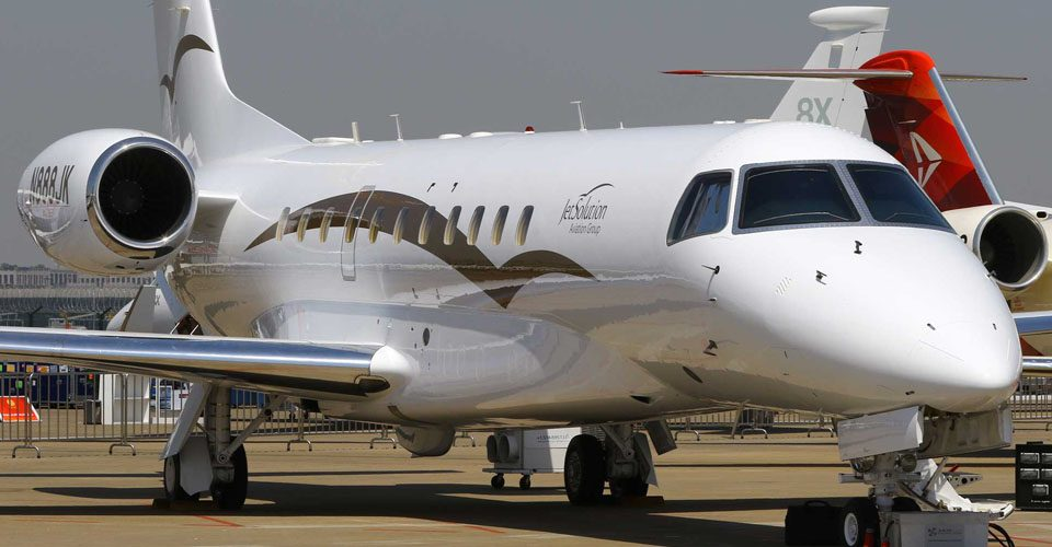 JetSolution Launches Charter Service with Legacy 600