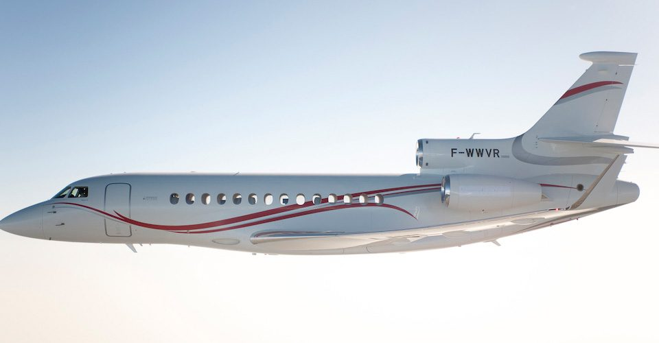 RAAF Takes Delivery of First of Three Falcon 7Xs