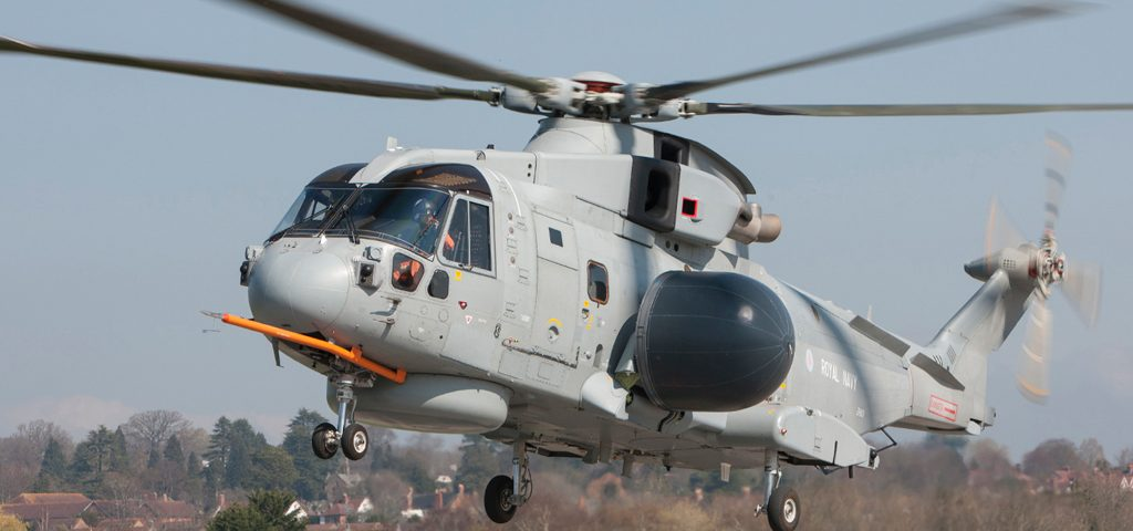 The Crowsnest trials helicopter got airborne for the first time on March 28.