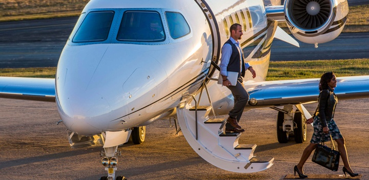 U.S. Bizav Flying Falls for Second Consecutive Month