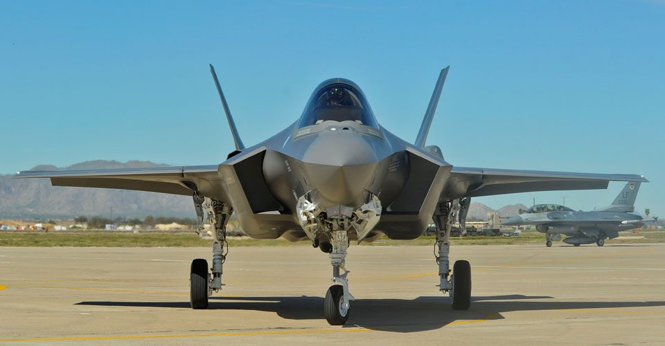 USAF Sends F-35s for First Combat Ops; RAF Set To Follow