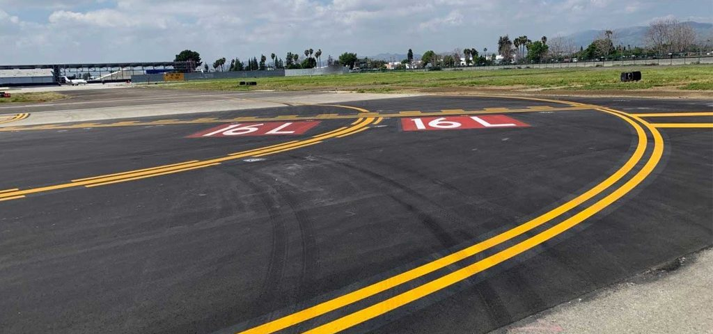 VNY Taxiway Rehab Hits First Milestone