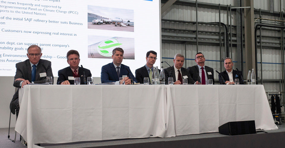 Business Aircraft Operators Need To 'Demand' Biofuel