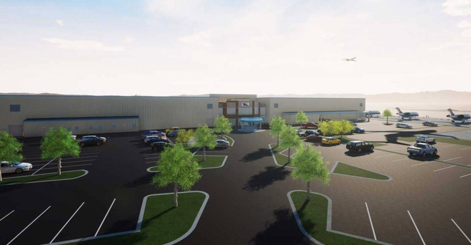 Chantilly Air Breaks Ground on New D.C.-area FBO