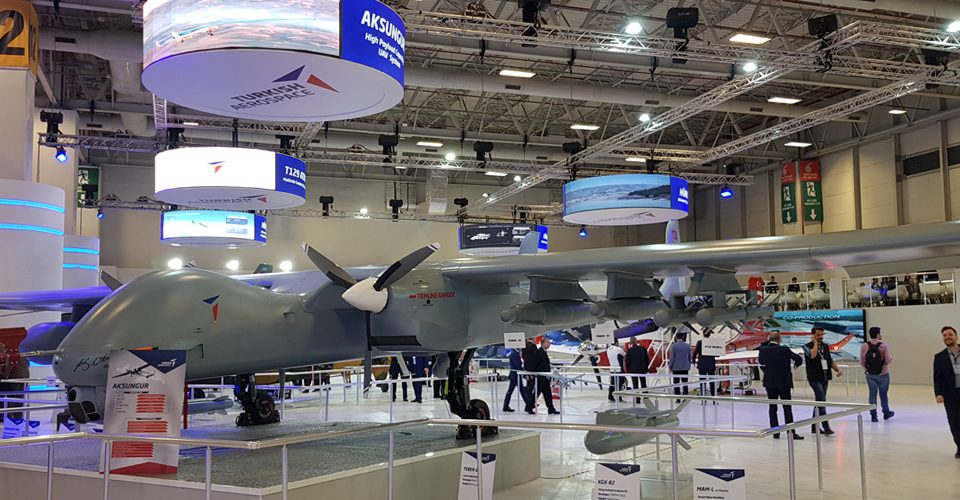 IDEF'19 Anka Aksungur to Fly with Turkish Engine by Year-end