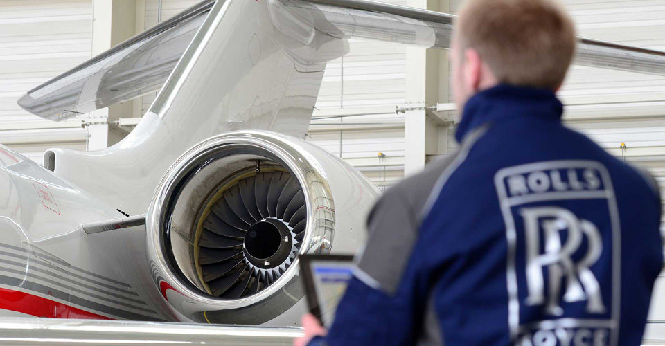 Rolls-Royce Delivering Pearl 15s for Bombardier's New Globals