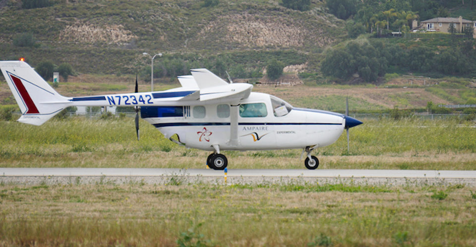 Ampaire Demonstrates Hybrid Motor with Public Flight