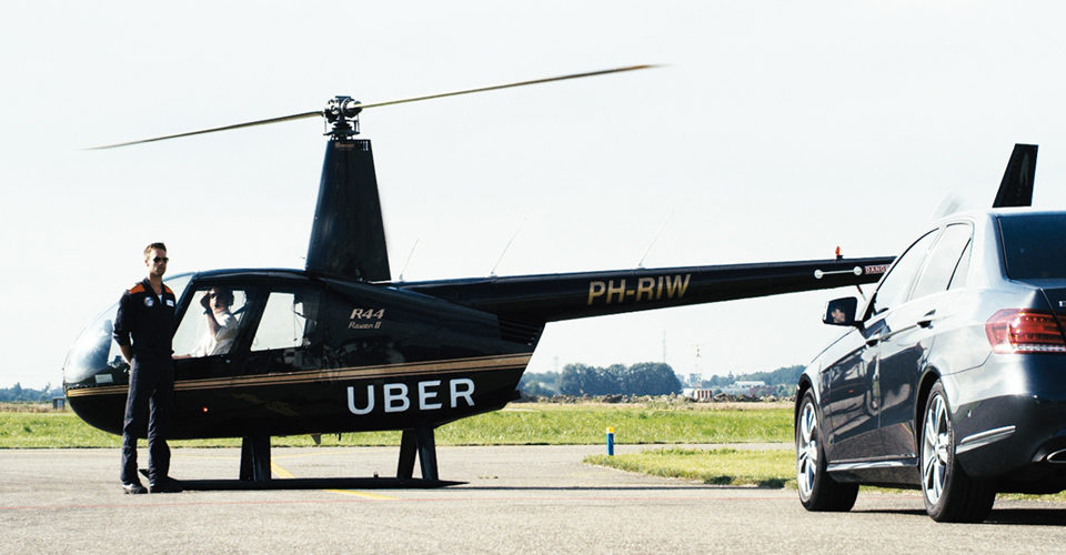 HeliFlite To Offer Initial UberCopter Flights