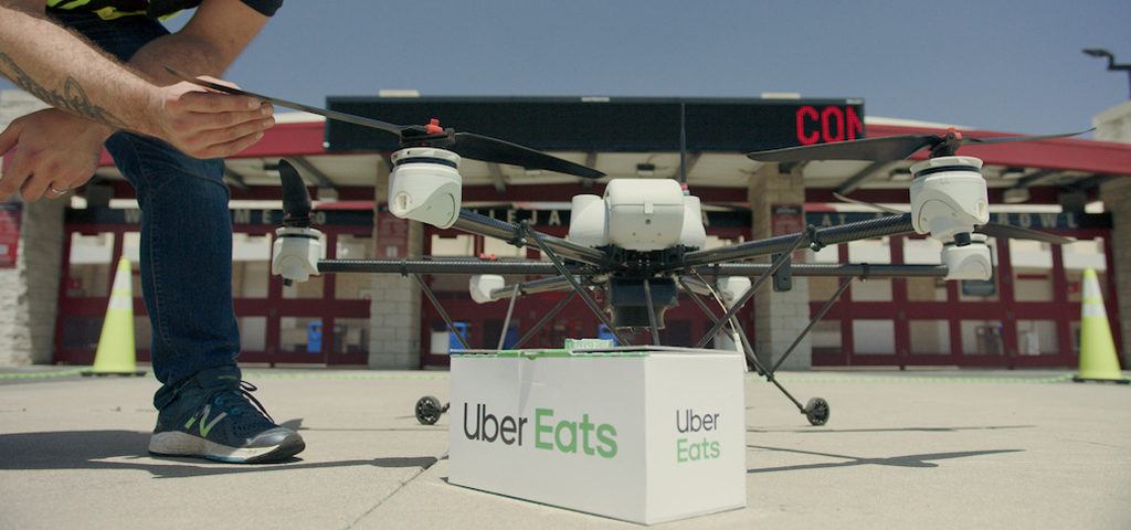 Uber Eats To Expand Drone Delivery in San Diego