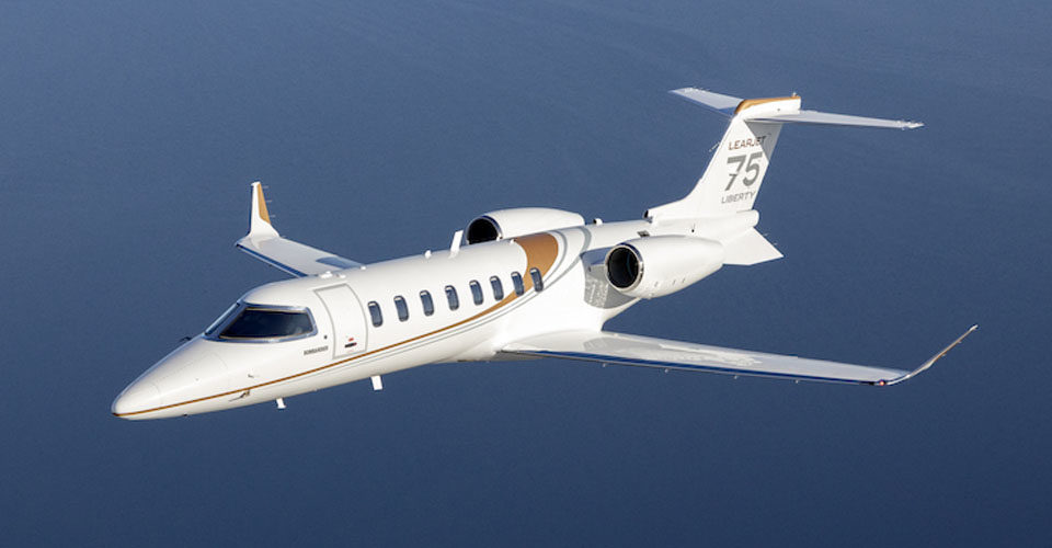 Bombardier Unveils New Learjet 75 Liberty