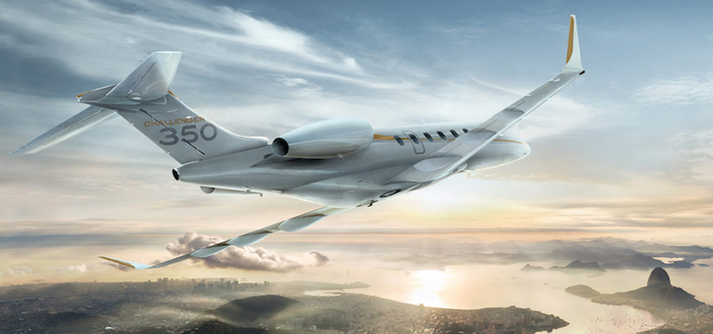 Bombardier's Challenger 350 Tops 300 Deliveries