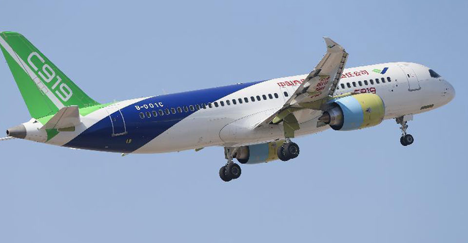 Comac Forges Ahead with C919 Flight Tests
