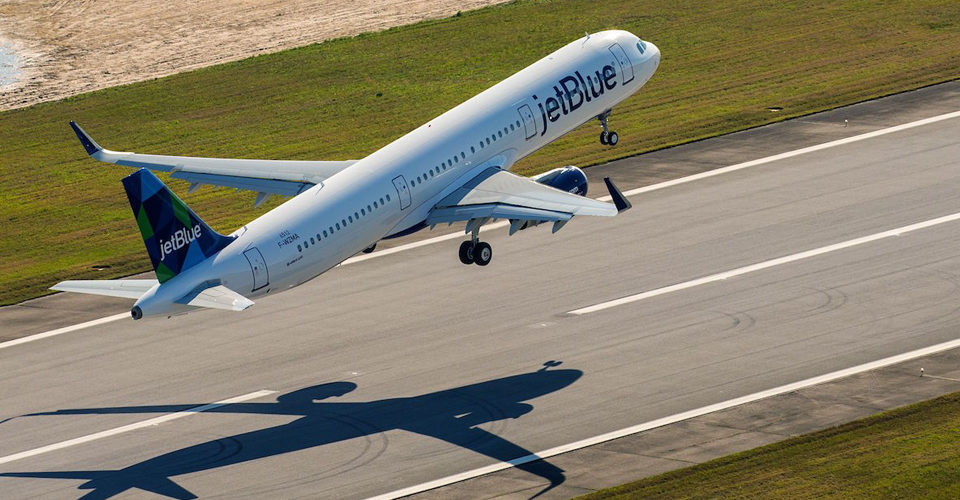 JetBlue Tweaks Capacity Outlook on A321neo Delivery Delays