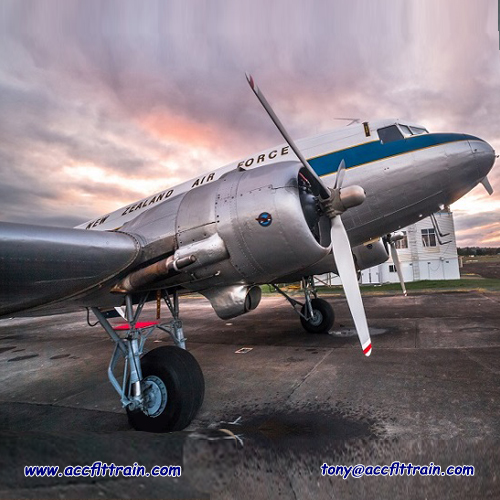 the Douglas DC3 is a fixed-wing propeller – driven aircraft whose speed and range revolutionised air transport in the 1930s and 1940s.