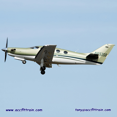 The Epic LT is an American kit-built single-engined turboprop aircraft intended for use by private pilots.