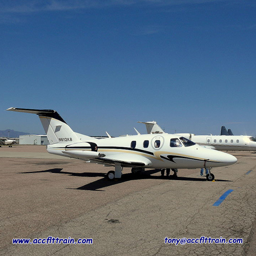 The Eclipse 500 is a marketing name for the Eclipse Aerospace EA500, a small six-seat American business jet aircraft