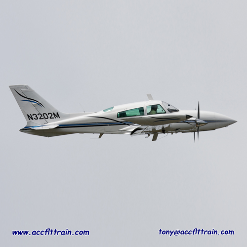 The Cessna 310 first flew on January 3, 1953. The sleek modern lines of the new twin were backed