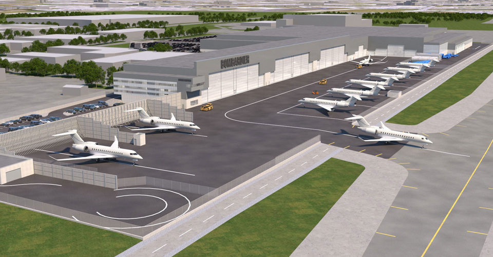 Bombardier Global Assembly Moving to Toronto Pearson