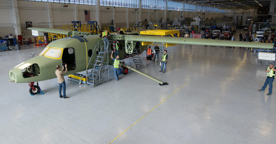 First Cessna SkyCourier Gets Its Wings