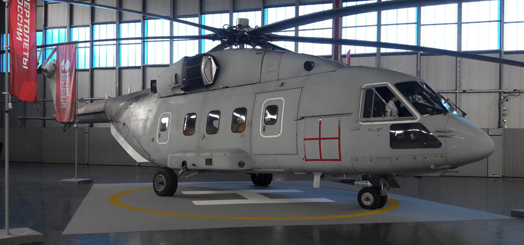 Russian Air and Space Force Receives First Mi-38T