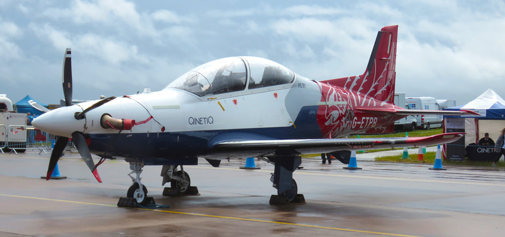 Spain Selects PC-21 for Training Requirement