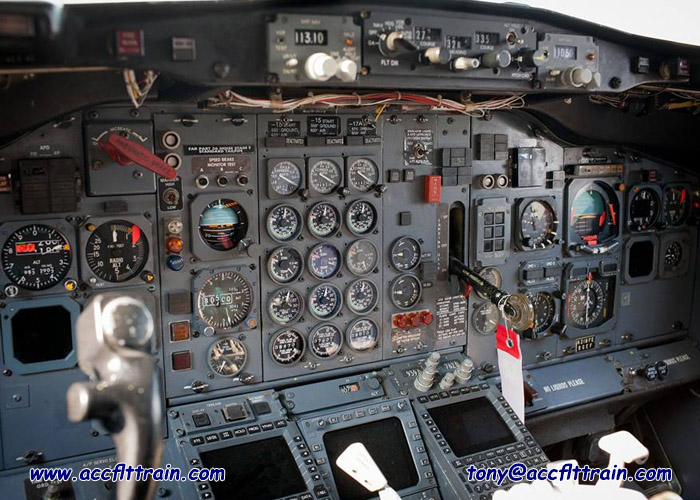 A.F.T. (Accelerated Flight Training) Center aircraft