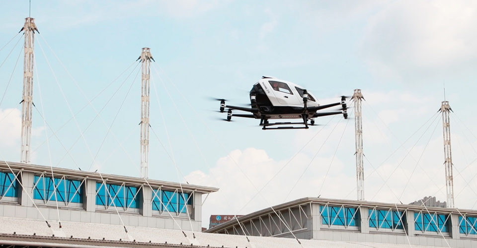 eVTOL Developer EHang Sets IPO Price For Nasdaq Flotation
