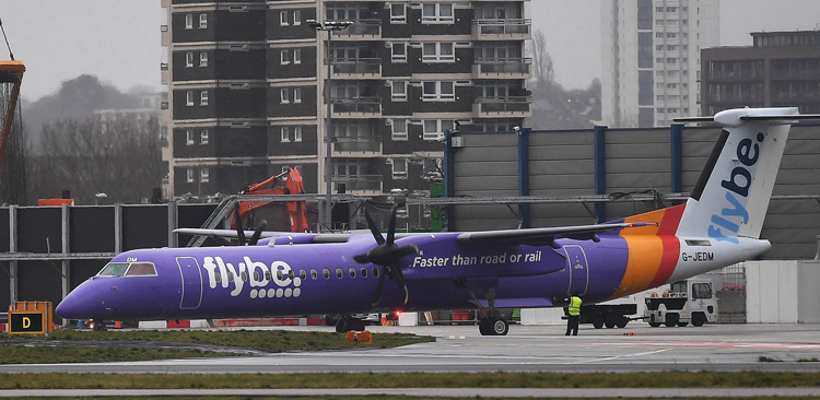 UK government reaches agreement to keep Flybe operating