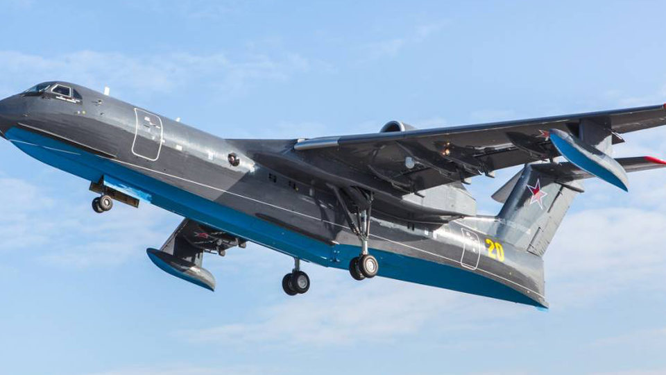 First Be-200 Intended for Russian Navy Takes Flight