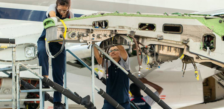 Jet Aviation Singapore Completes APAC Lineage Inspection