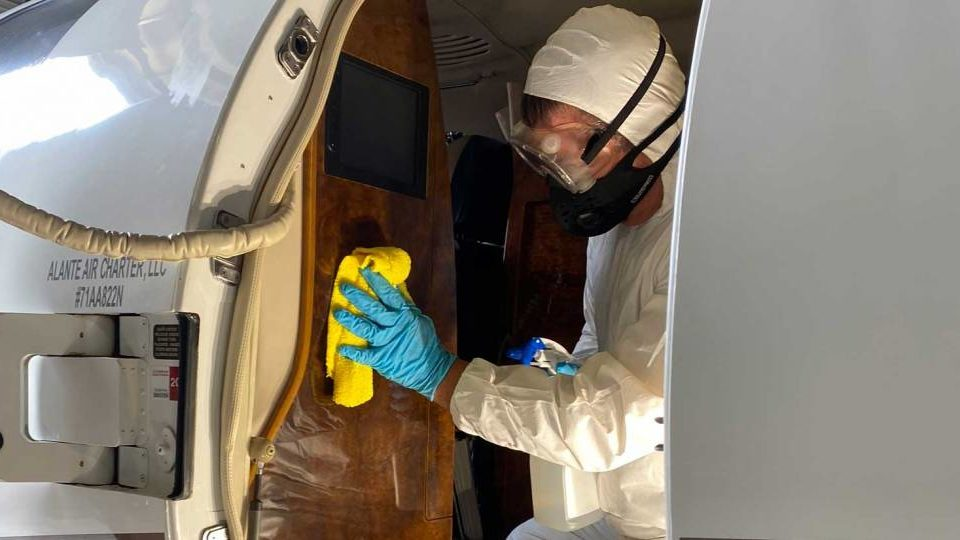 Ross Aviation Begins Aircraft Disinfection Services