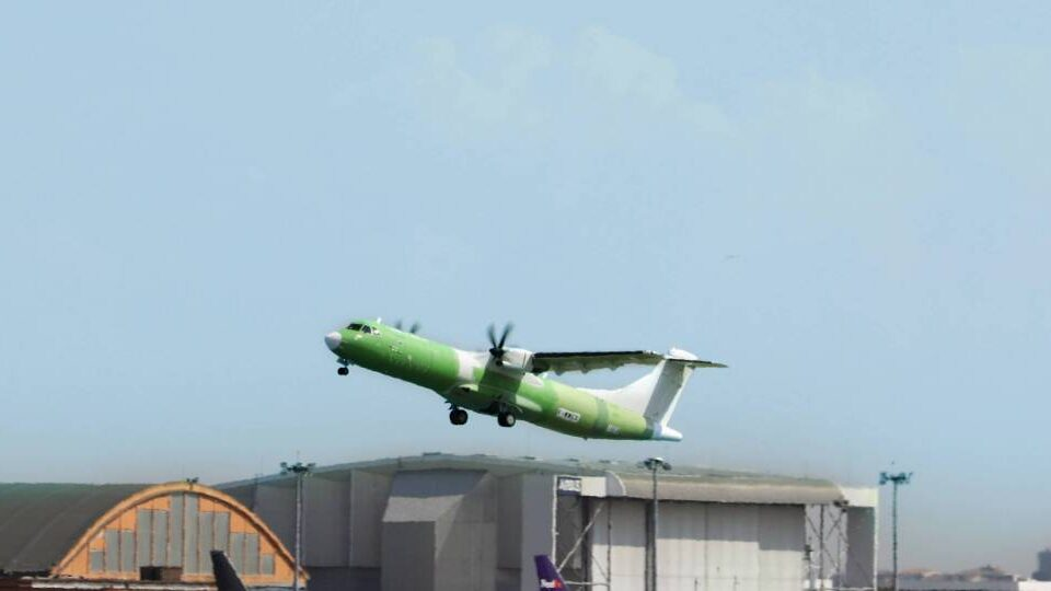First New-Build ATR 72 Freighter Takes Flight