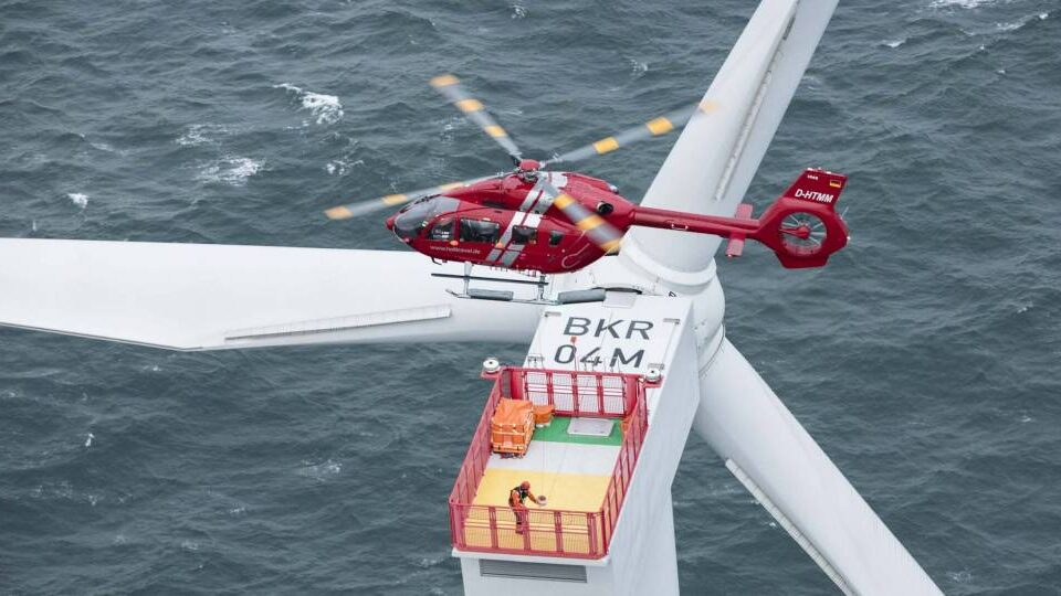 Five-Bladed Airbus H145 Hits Offshore Wind Market