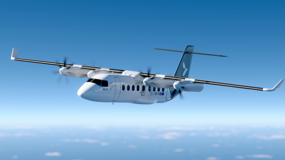 Heart Unveils Electric Propulsion System for ES-19 Airliner